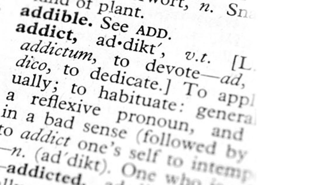 addict dictionary entry