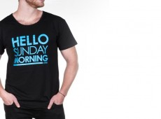 hello sunday morning t-shirt