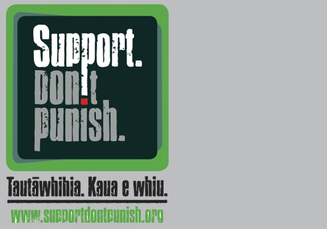 Support. Don't Punish. logo