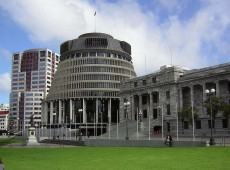 nz parliament beehive