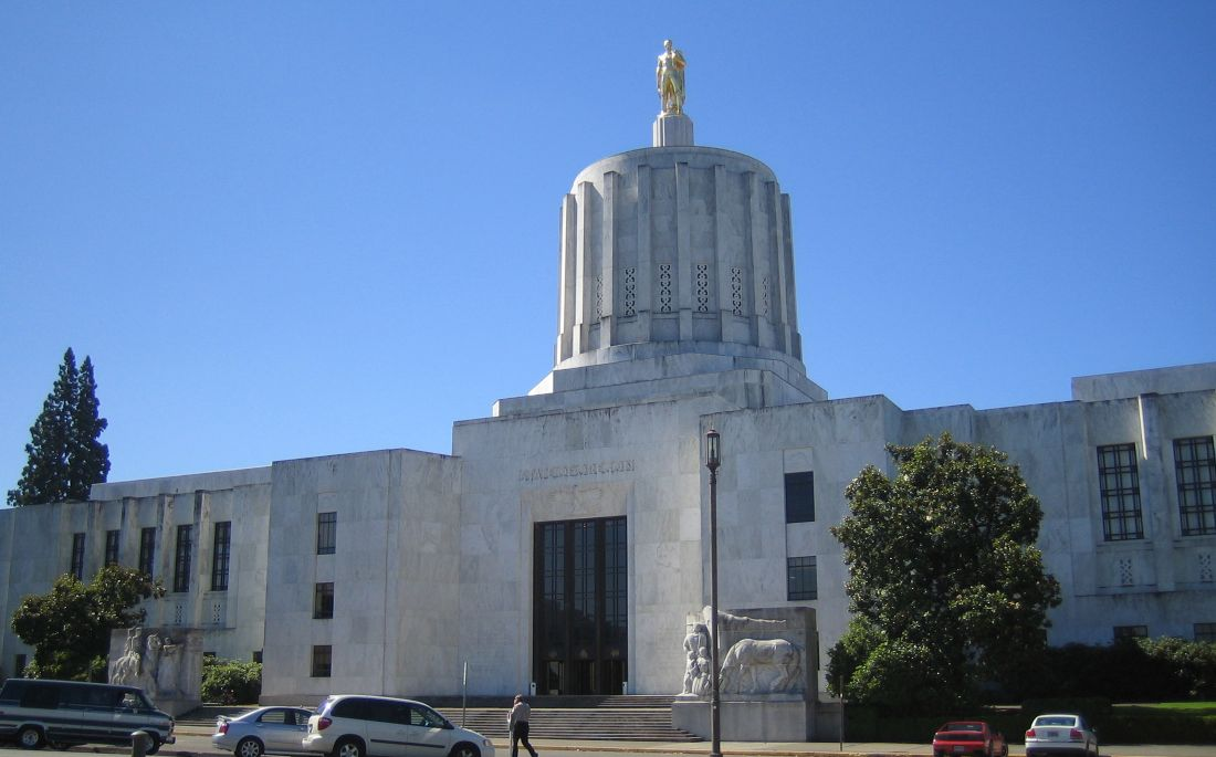 Oregon state capital by theodore meador flickr