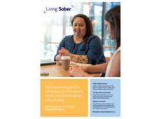 Living sober poster A3 1