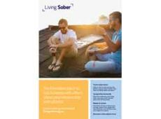 Living sober poster A3 3