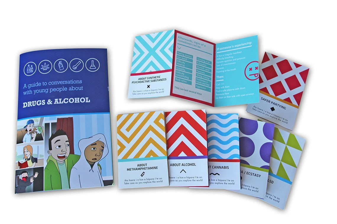 Photo of Did You Know booklet and pocket card resources