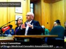Ross and Kali at Health Select Committee thumbnail