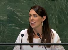Jacinda Ardern addresses UN in New York thumbnail