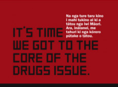 It's time to get to the core of the drugs issue hui notice